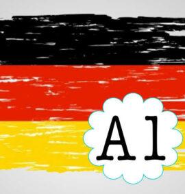 Curso de Aleman Nivel A1 Marco Europeo
